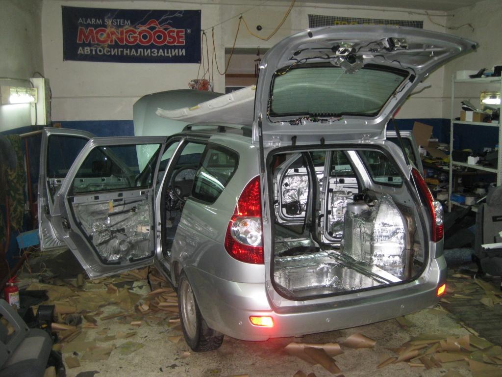 Лада Приора: шумоизоляция автомобиля