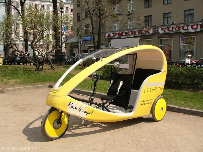 У таксистов появились необычные конкуренты