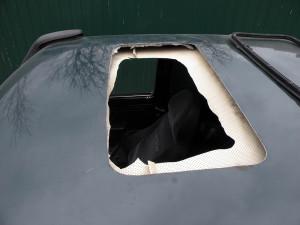 Самостоятельная установка люка в крышу автомобиля