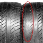 Как определить изношенность шины