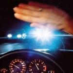 Как водить машину при ярком свете