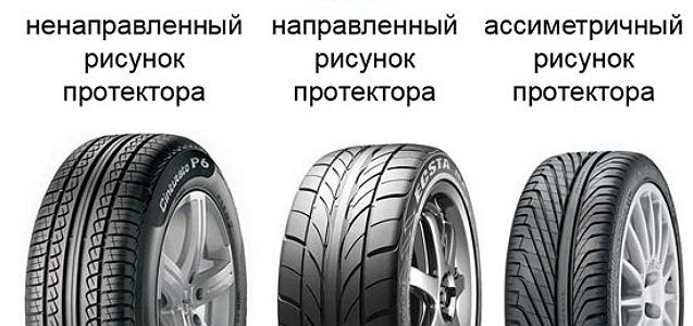 «Расшифровываем» рисунки протекторов шин
