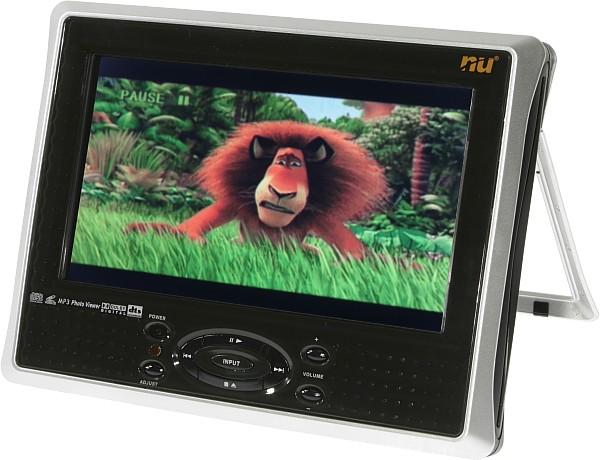 Как выбрать портативный DVD-плеер с двойным экраном?