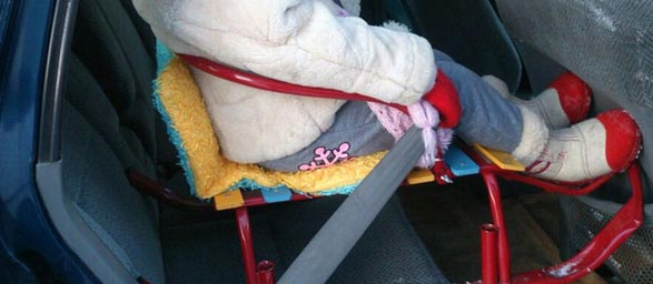 «Иные устройства» для фиксации детей в автотранспорте скоро будут вне закона