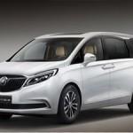 Минивэн для бизнесменов Buick GL8 показали в Китае