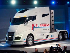 Водородный грузовик от Nikola Motor