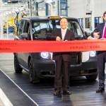 Для выпуска нового таксомотора LTC Х5 построили завод в Англии