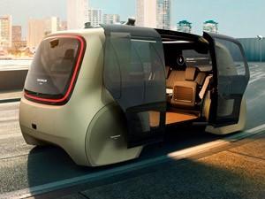 Volkswagen-такси решило начать с беспилотников Sedric