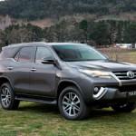Российский вариант Toyota Fortuner