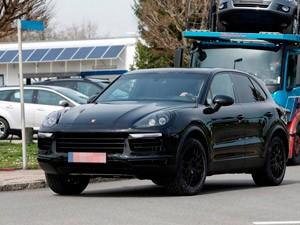 Обновленный кроссовер Porsche Cayenne: тайн больше нет